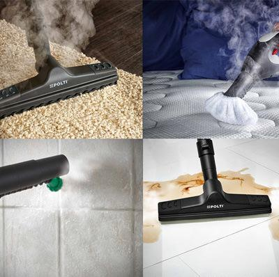 EcoSteamVac: cleans the whole house