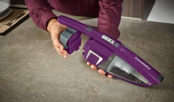 Forzaspira SR25.9 Orchid stick vacuum - Extended operating time and freedom of movement